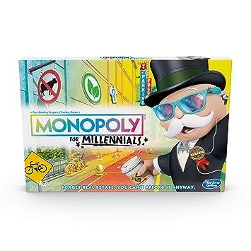 Hasbro Gaming E49891020 Monopoly for Millennials Juego de ...