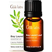 Gya Labs Bay Leaf Essential Oil for Hair Growth, Pain Relief and Sleep - 100 Pure Bay Leaf Oil Therapeutic Grade Bay…