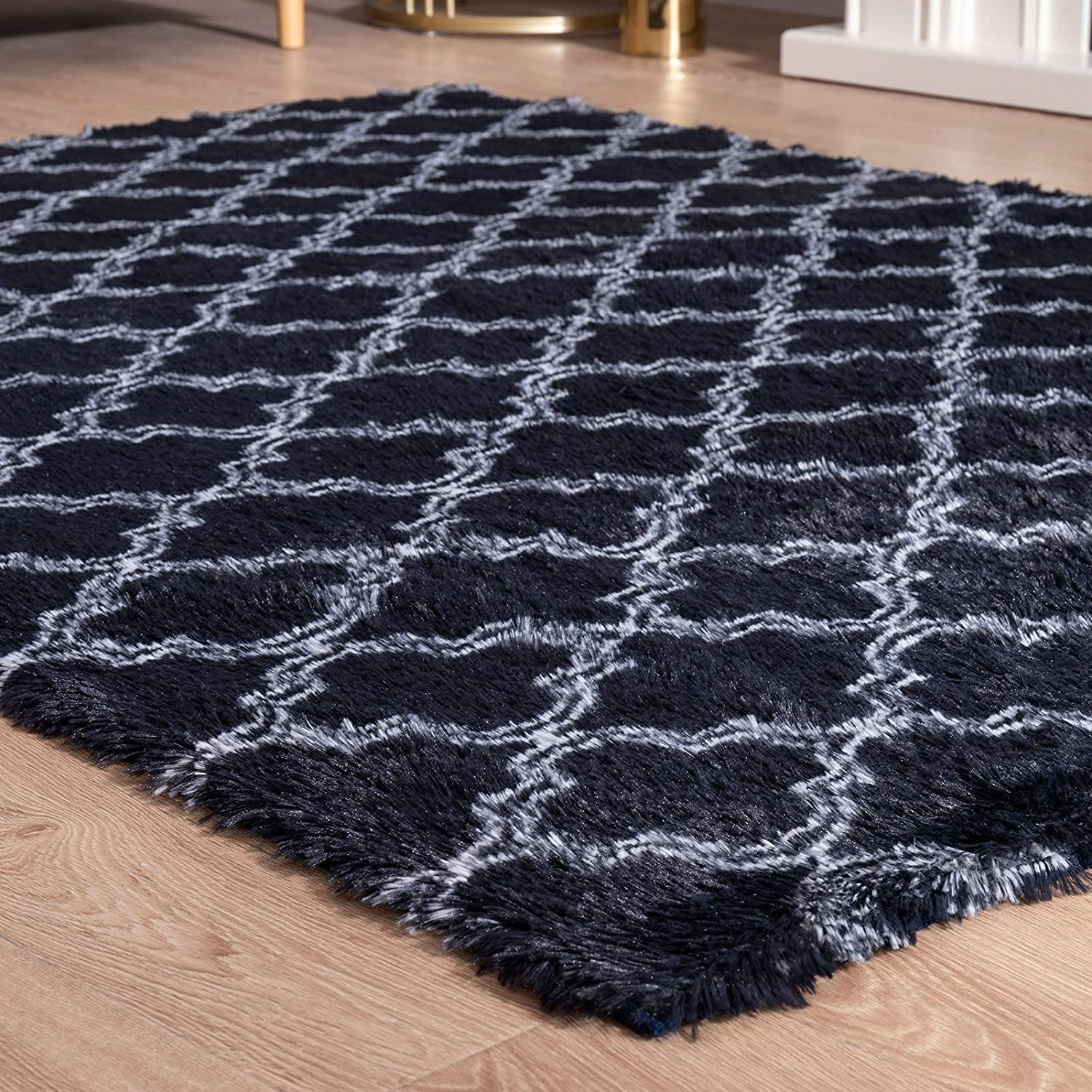 Carvapet Super Soft Moroccan Dallas Mall Area Rugs S Living Max 88% OFF for Room Bedroom
