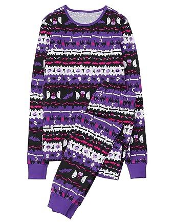 gymboree womens moms tight fit fairaisle halloween sleepwear at amazon womens clothing store