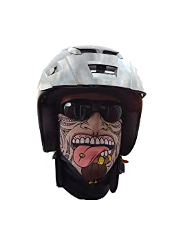 Salt Armour svoki Kahuna Visage Foulard Tuyau Rigide Protection Contre Le Froid  Visage Masque Masque Halloween 878ecbab470