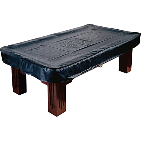 225 & Harley-Davidson Black Leatherette Billiard/Pool Table Cover- Fitted For 7 Foot Table