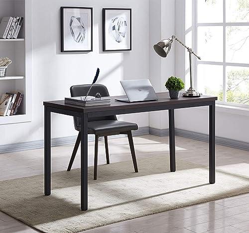 "AMOAK Writing Computer Desk 39"" Modern Simple Study Desk Industrial Style"