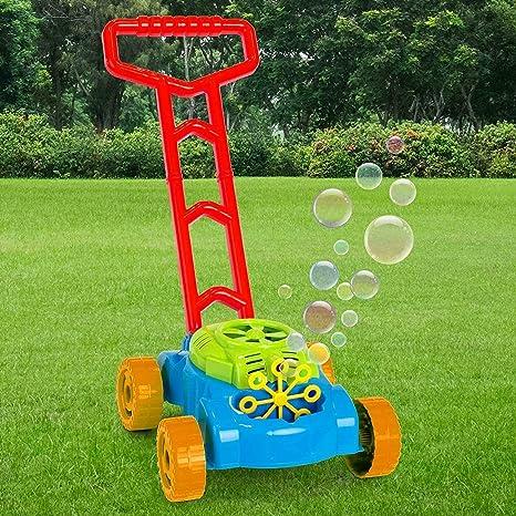 Amazon.com: Cortacésped de burbujas con empuje a lo largo de ...
