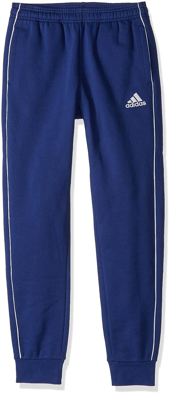 Adidasユニセックスユースサッカーcore18 Sweat Pant B072L7RRRD Large|ダークブルー/ホワイト ダークブルー/ホワイト Large