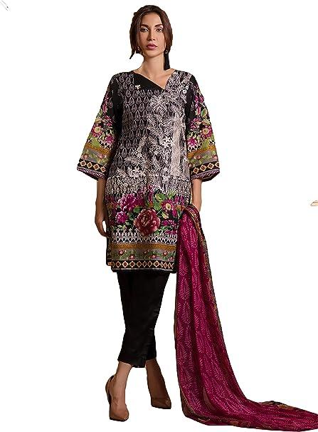 Amazon.com: IshDeena Pakistani Vestidos para Mujer Listo ...