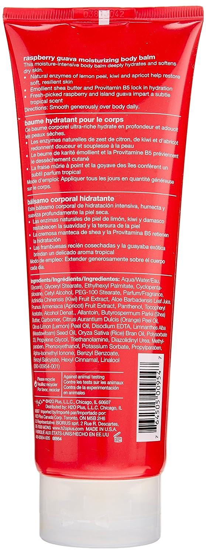 H2O+ Raspberry Guava Moisturizing Body Balm for Unisex, 8.5 Ounce