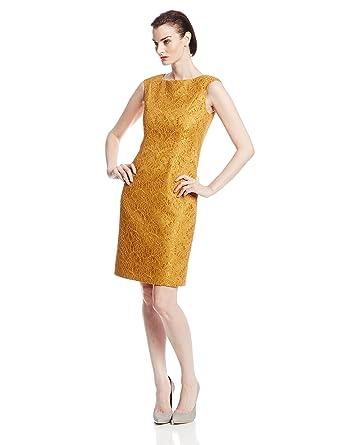 dae99c82 Fabiola Arias Women's Sheath Dress with Cap Sleeve at Amazon Women's ...