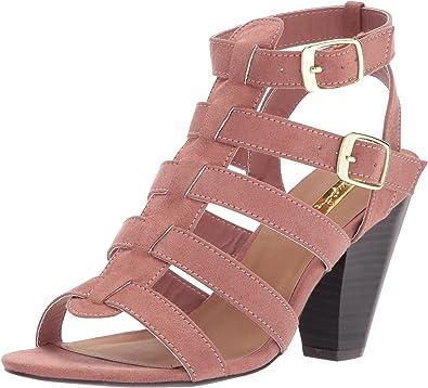 Qupid Womens CHAMBER-22 Heeled Sandal