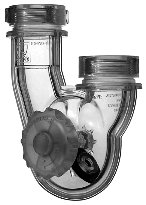 Pleasing Pf Waterworks Pt5021Permaflownever Clog Universal Transparent Abs P Trap For Kitchen And Bath Lavatory Universal Fit 1 1 2 Inch Or 1 1 4 Inch Download Free Architecture Designs Scobabritishbridgeorg