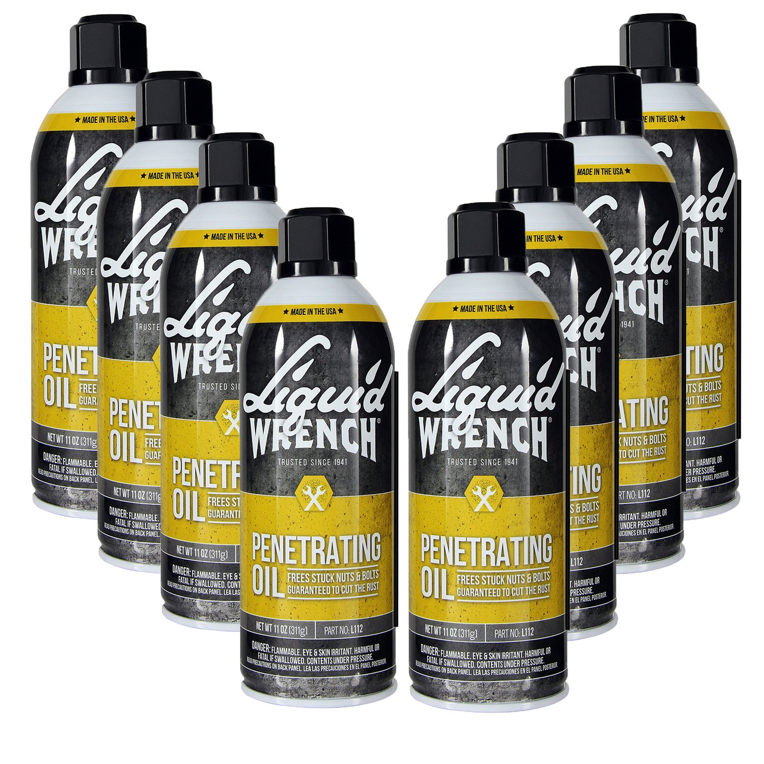 Liquid Wrench L112-12PK Liquid Wrench Penetrating Oil (12/11Oz) by Liquid Wrench