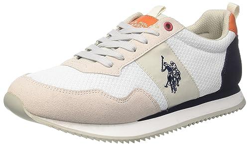 U.S.POLO ASSN. U.S. Polo Assn. TALBOT1, Sneaker Uomo, Verde (Military Green), 41 EU