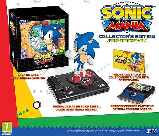 Sonic Mania Edición Coleccionista (Nintendo Switch): Amazon ...