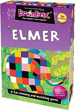 Brain Box - Elmer, Juego de Mesa en inglés (40020): Amazon.es ...