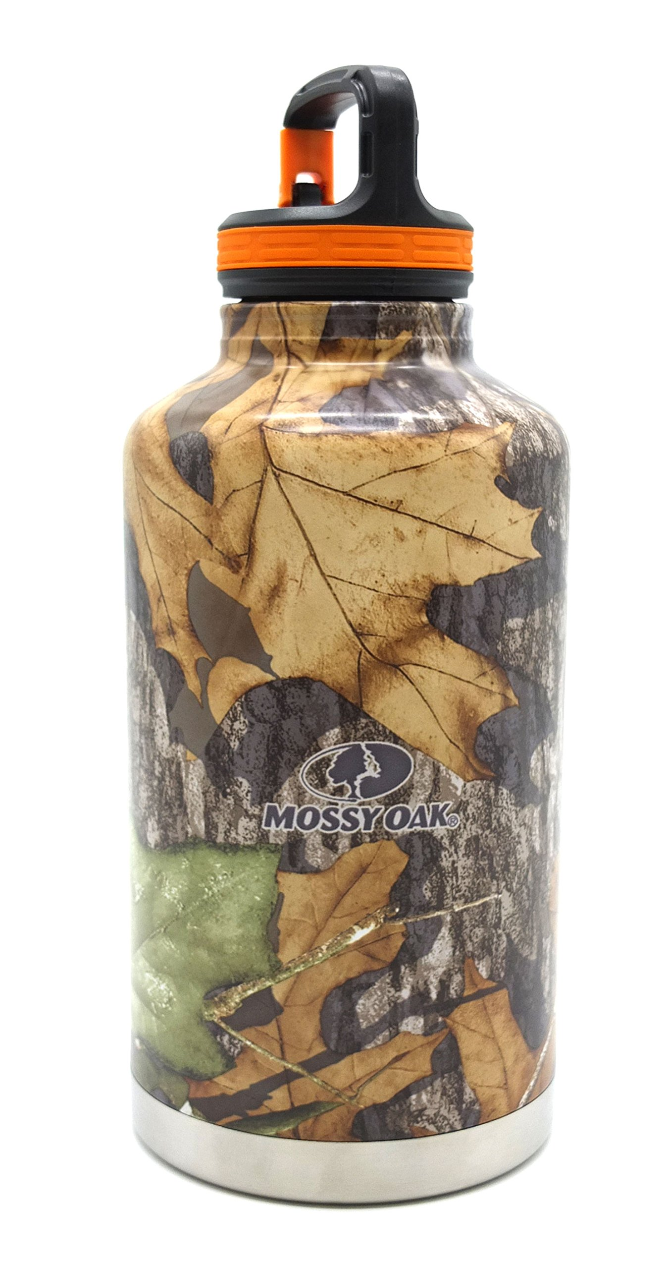 Aura Outdoor Products Mossy Oak Insulated Bottle, 64 oz