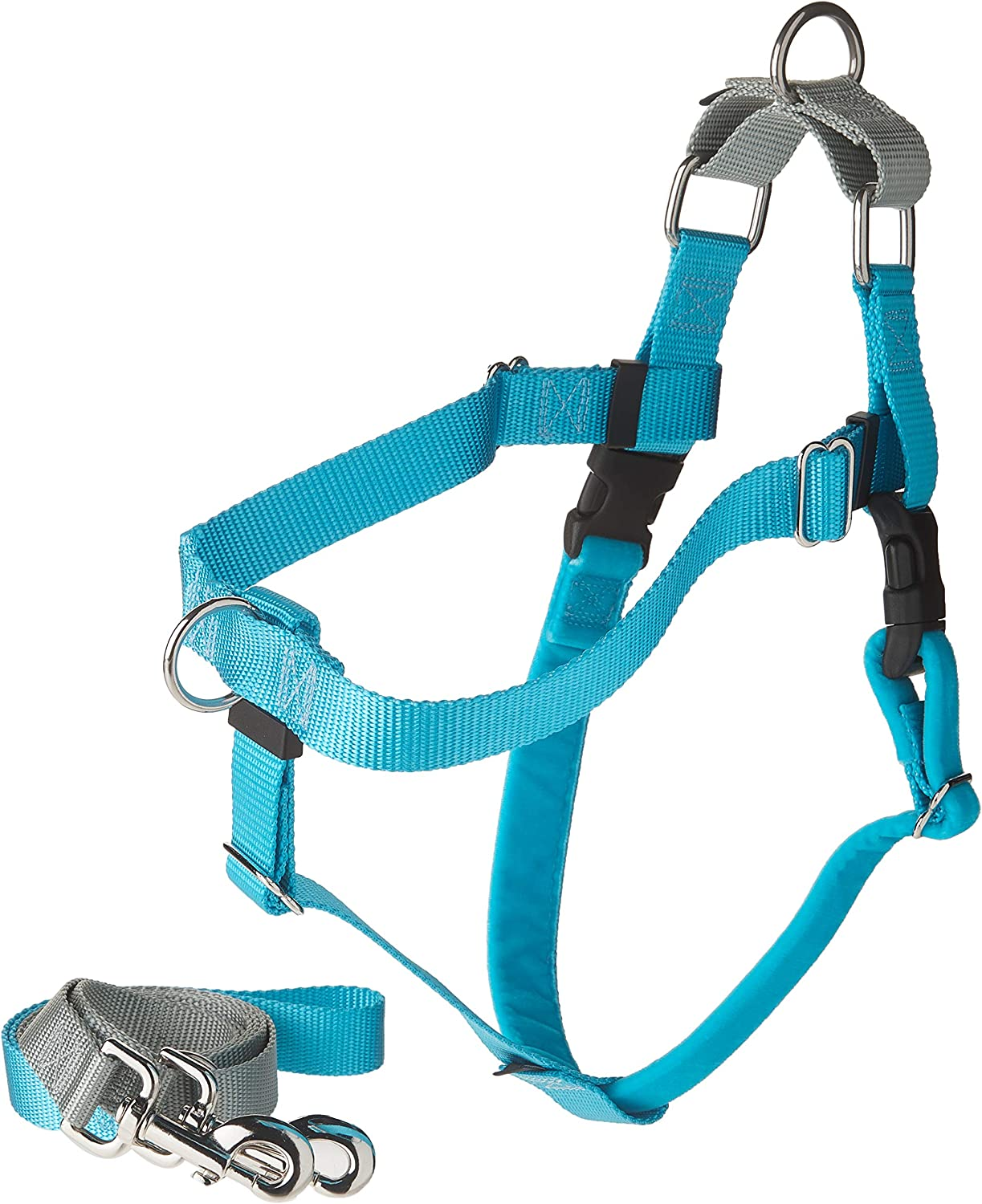 2 Hounds Design Freedom No-Pull Dog Harness with Leash, Large 81zcDyP82BuL