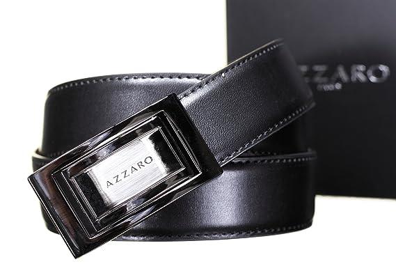 1c3ca3274712 AZZARO - Ceinture 21339 Reversible Noir Marron - Couleur Noir - Taille  Ajustable