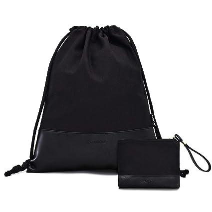9f2ca8589f7bb Leapop Turnbeutel Hipster Segeltuch Sporttaschen