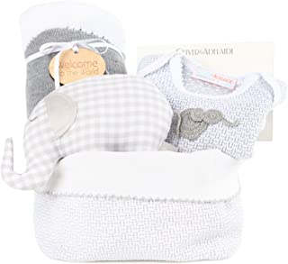 product image for Oliver and Adelaide American Made Everyone Loves Elephants -4pc Gift Set, Grey, 0-6 Months
