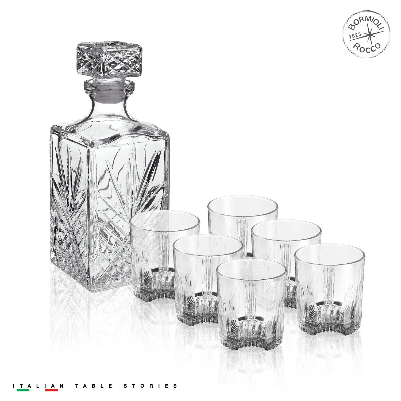 Bormioli Rocco Selecta 7-Piece Whiskey Gift Set, Frustration Free Packaging by Bormioli Rocco (Image #6)