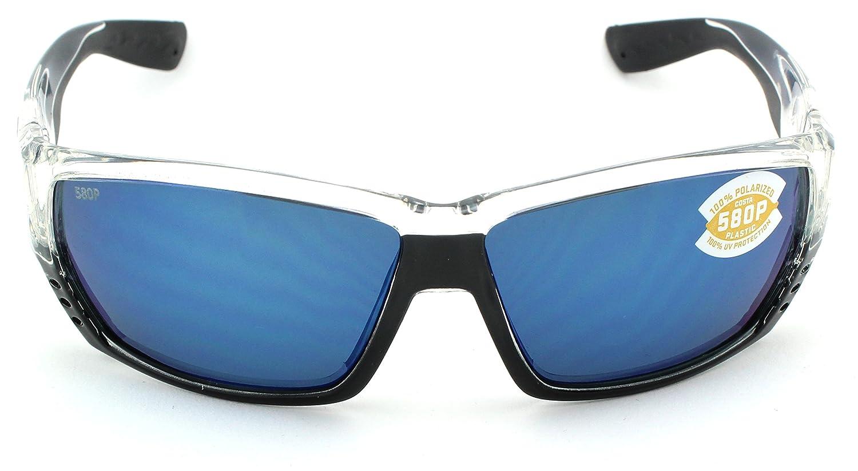 002c2487454 Amazon.com  Costa Del Mar Tuna Alley 580P Polarized Men Sunglasses (Crystal  Frame