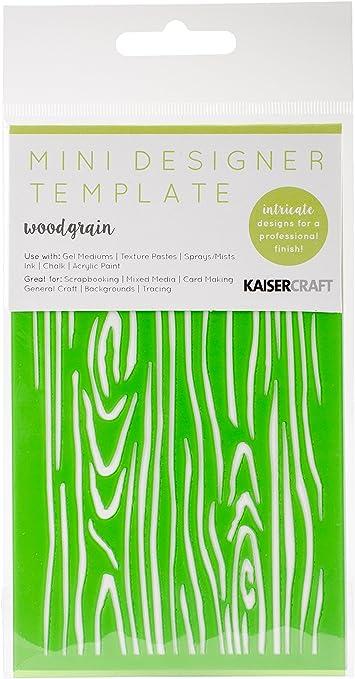 "Kaisercraft Mini Designer Template Succulents  3.5x5.75/"""