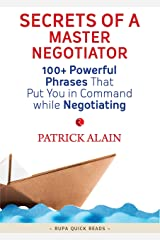 Secrets of a Master Negotiator (Rupa Quick Reads) Kindle Edition