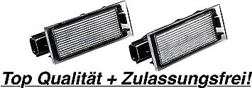 2x Led Smd Kennzeichenbeleuchtung Rn06 Auto