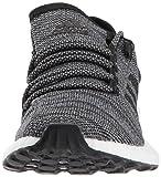 adidas Men's Pureboost ATR Running Shoe, Black/Grey