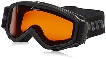 Amazoncom Alpina Spice Double Flex Goggles One Size Black - Alpina goggles
