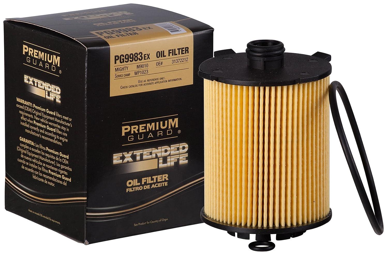 Amazon.com: Premium Guard PG9983EX Extended Performance Oil Filter, 1 Pack:  Automotive