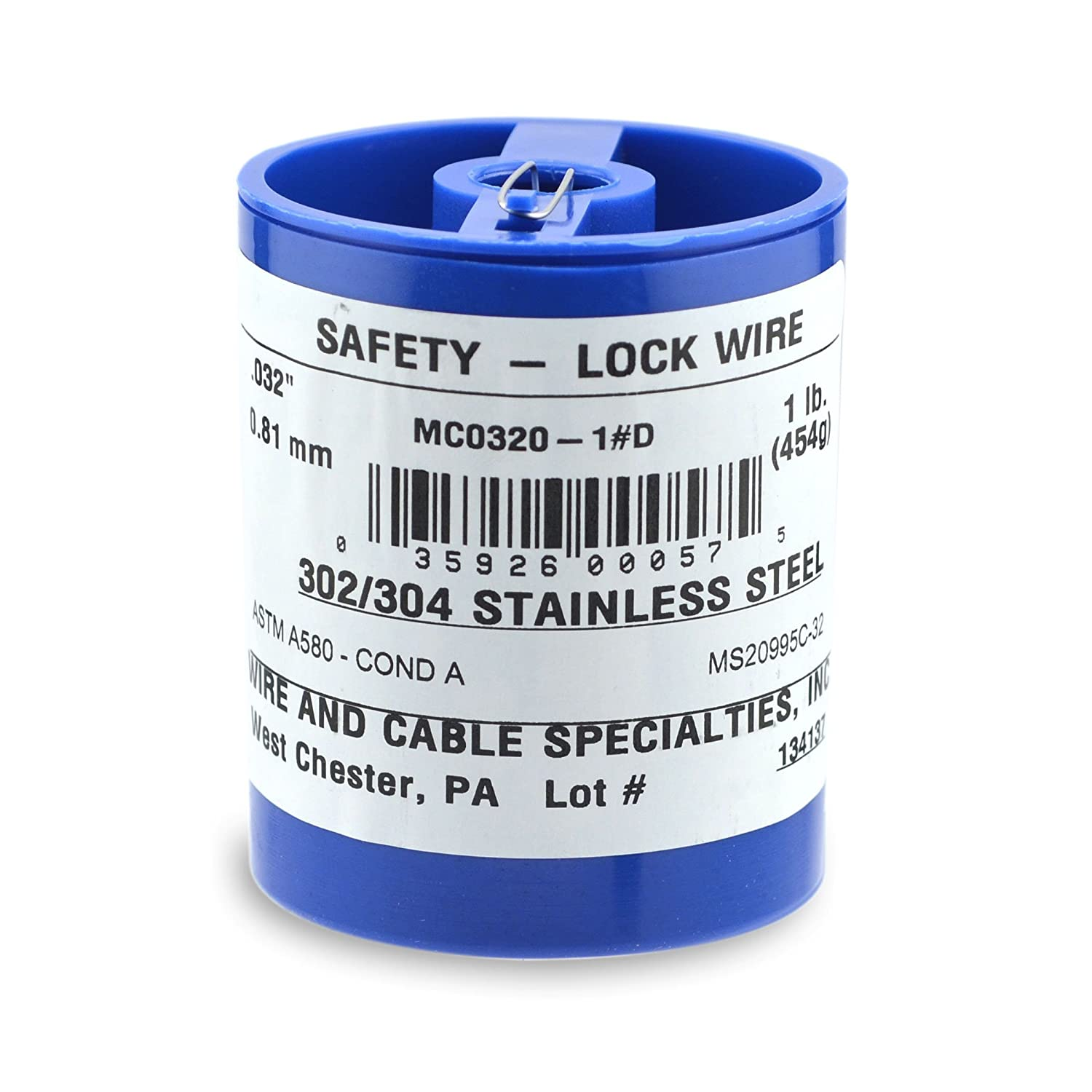 Amazon.com: Wire and Cable Specialties MC0320-1#D .032\