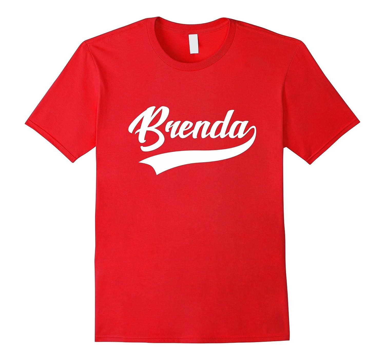 Brenda - First Name As A Sport Swash - Ladies T-Shirt-Art