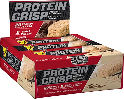 Product thumbnail for BSN Protein Crisp Bar