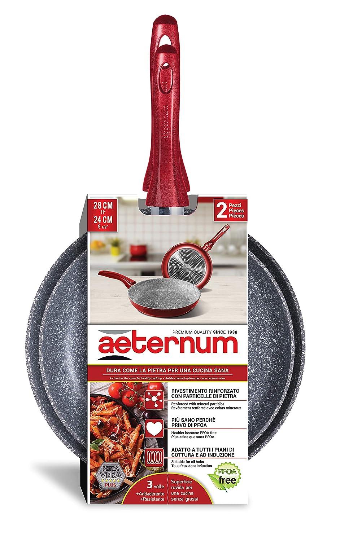 Petra Dura Come La Pietra.Aeternum Pan And Pan Set Two Pans Bis Amazon Co Uk Kitchen
