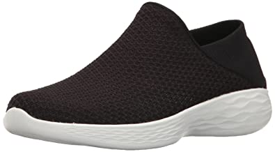 black skechers slip ons