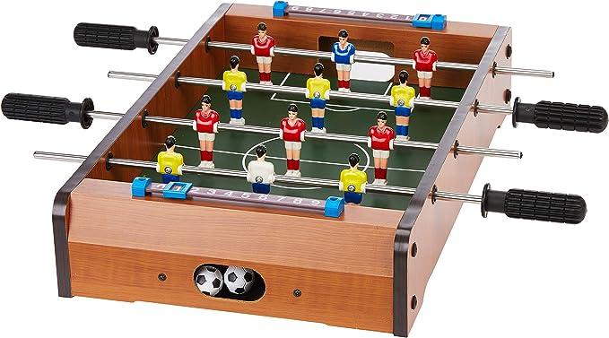 Aquamarine Games - Futbolín de Mesa (Compudid CP016): Amazon.es ...