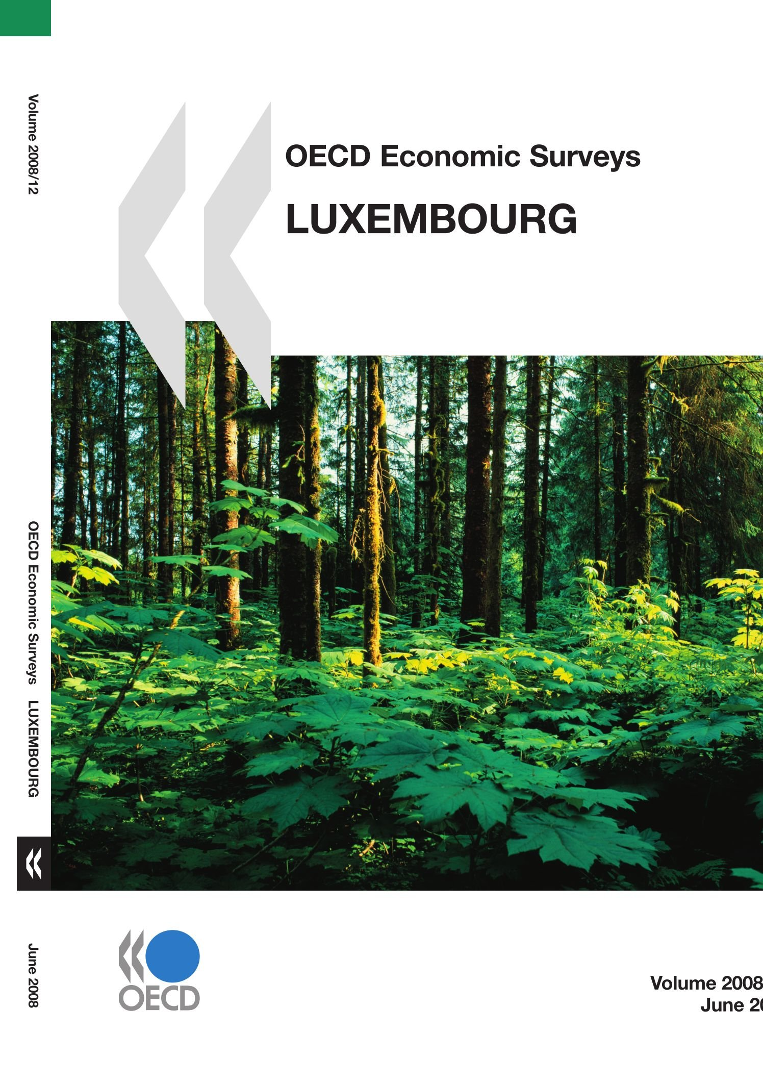 OECD Economic Surveys: Luxembourg 2008 (Oecd Economic Surveys 2008)