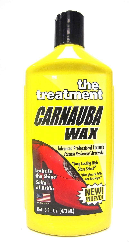 The Treatment Carnauba Líquido Cera DURADERO Muy Brillante Brillo - 16 Fl oz 473ml