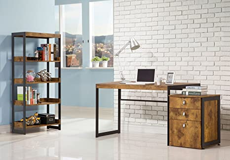 Set Ufficio Legno : Perfectchoice estrella pz legno metallo ufficio scrivania set