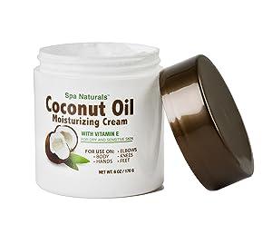Spa Naturals Coconut Oil Moisturizing Cream