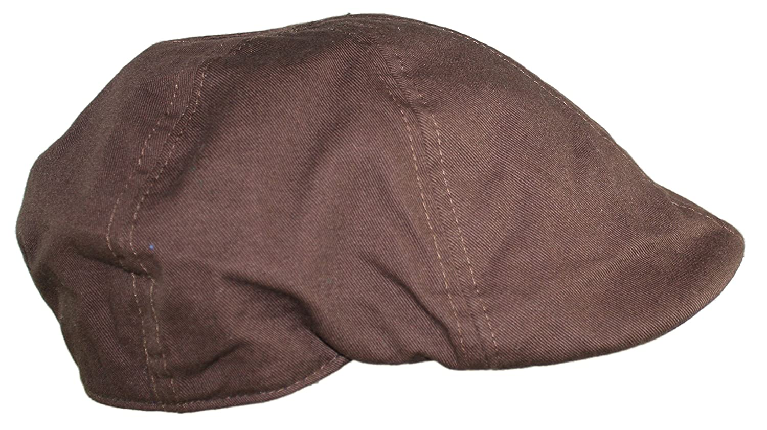 Ted and Jack Cotton Adjustable Duckbill Driving Cap with Paisley Lining