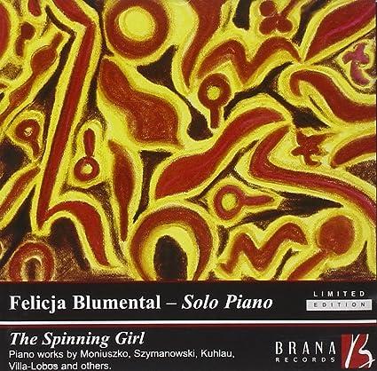 Blumental - The Spinning Girl: DIVERS, Felicja Blumental: Amazon ...