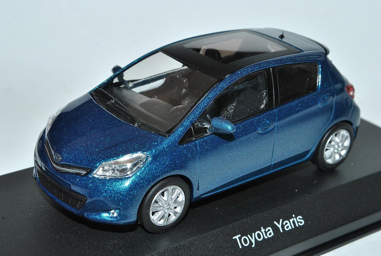 Kyosho Toyota Yaris 5 5 5 Türer Grün Blau Metallic XP13 Ab 2010 1/43 Modell Auto mit individiuellem Wunschkennzeichen ae7f6f