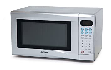 sanyo em s155as 17 litre 700 watt touch control solo microwave oven rh amazon co uk Manual for Panasonic Microwave GE Spacemaker Microwave Manual