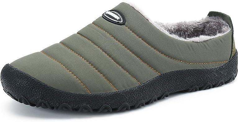 Comodas Zapatillas de Estar por Casa Hombre Invierno Hogar Andar Verde 39: Amazon.es: Zapatos y complementos
