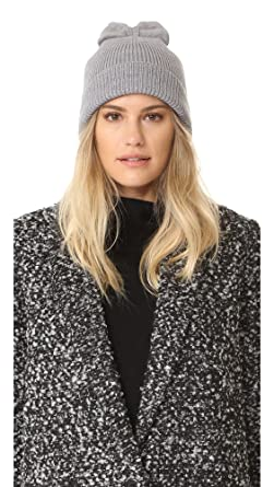 e1327bf82436b Image Unavailable. Image not available for. Color  Kate Spade New York  Women s Solid Bow Beanie ...