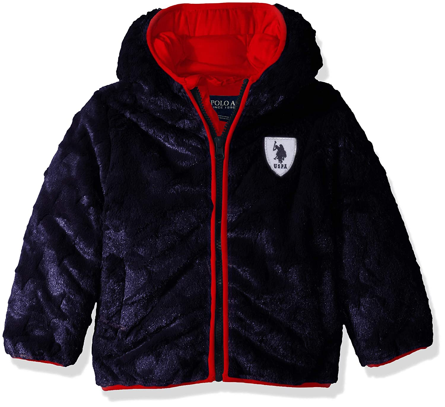 U.S. Polo Assn. Baby Boys Star Plush Jacket US Polo Association J_UD83H