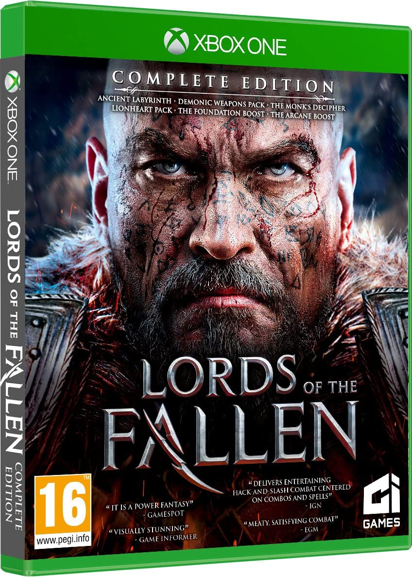 Lords Of The Fallen Complete Edition (Xbox One): Amazon.es: Videojuegos