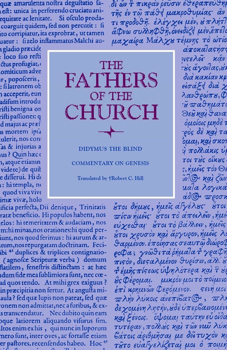 Commentary on Genesis (Fathers of the Church Patristic Series) pdf